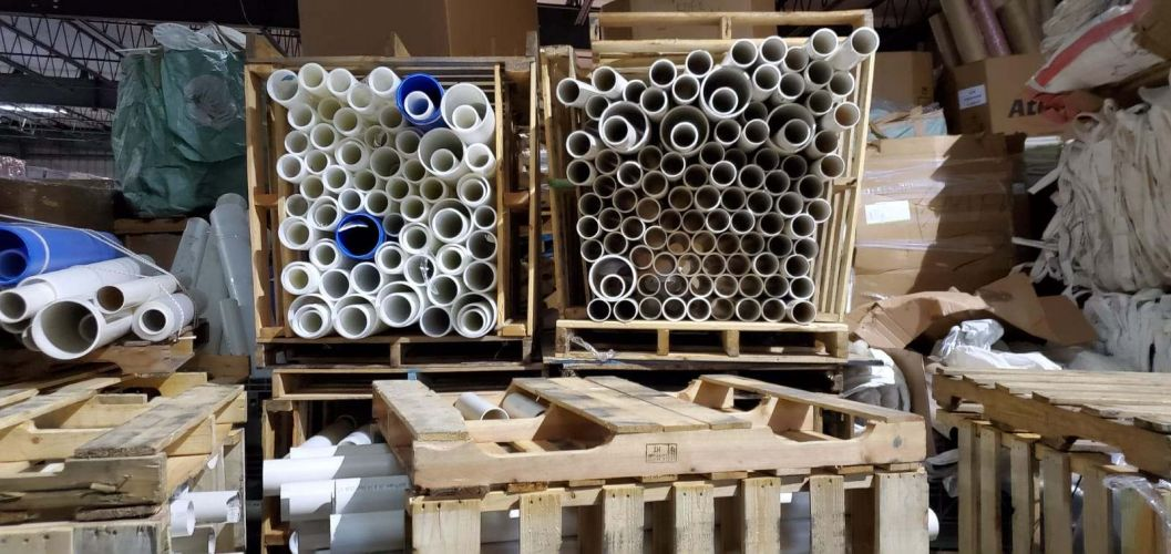 PVC PIPE OFF CUTS A Grade Quality 16753