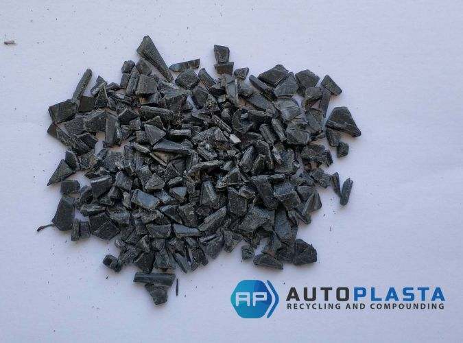 ABS black regrind 11046