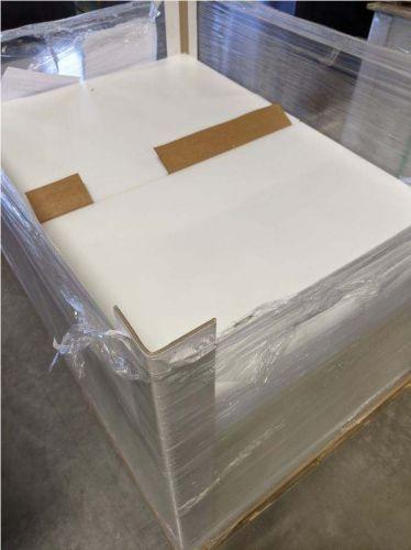 """HDPE sheets natural 0.016"""" x 28 x 20"""" 21831"""