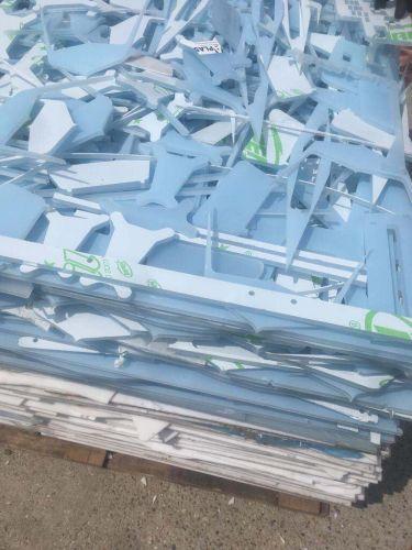 PMMA acrylic sheet scrap. 14578