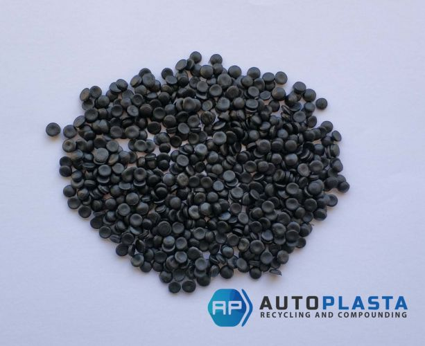 HDPE black pellets 11041