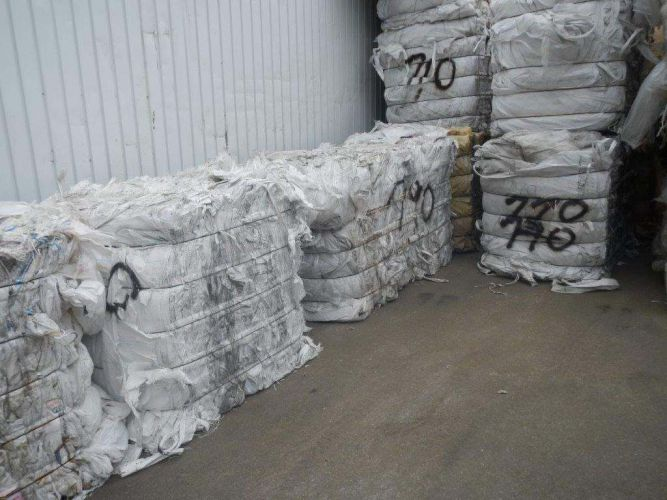 PP Big Bags on Bales White color 19158