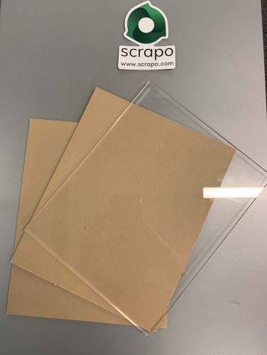 Acrylic scrap 16260