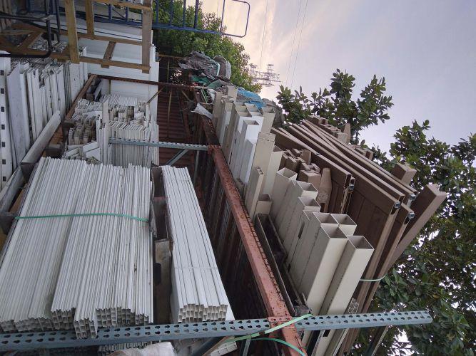 pvc fencing scrap 22838