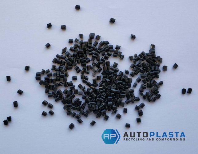 ABS black pellets 11047