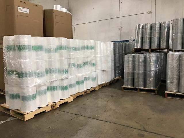 LDPE Rolls with Nylon (less than 5%) 18183