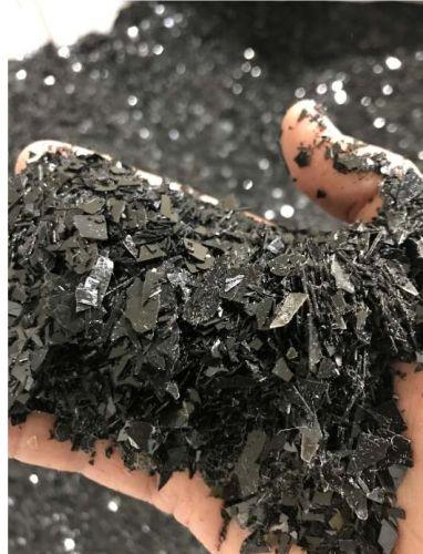 Black pet regrind 19608