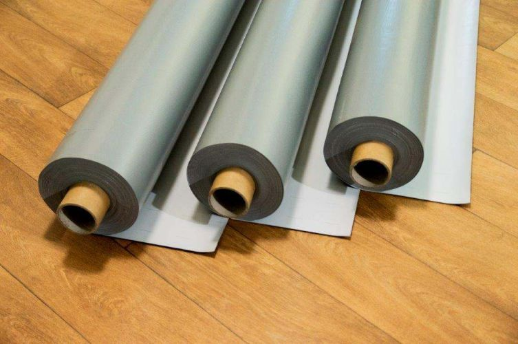 PVC reinforced membranes with visual defects  19056