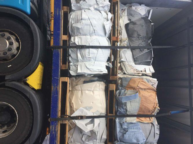 PVC LAMINTE BALES /REGRIND  20903