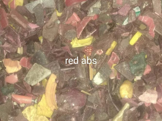 red abs plastic  7464
