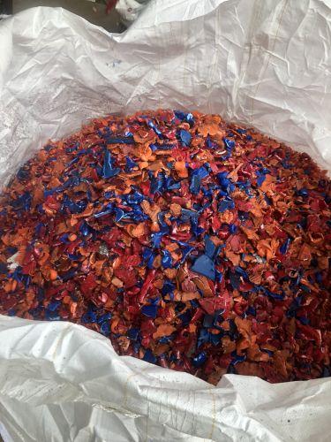 Clean HDPE Shredded Plastic 16545