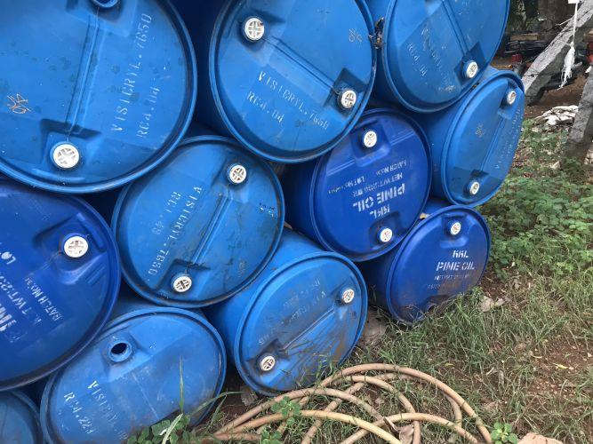 HDPE     used  drum  23344