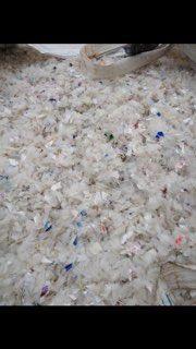 HDPE Milk plastic scrap 7550