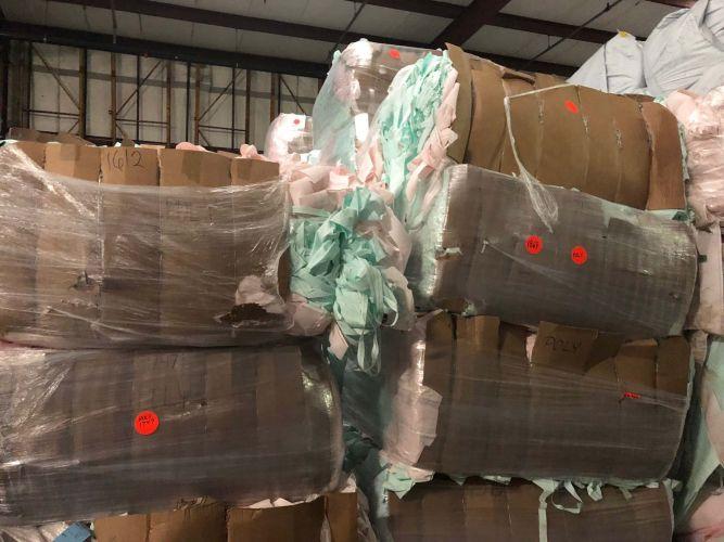 Polyester Air bag scrap 4462