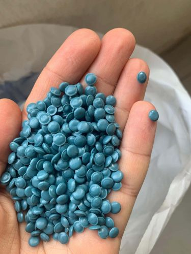 LDPE BLUE GRANULES 20865