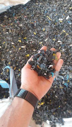HDPE black regrind (washed) 11465