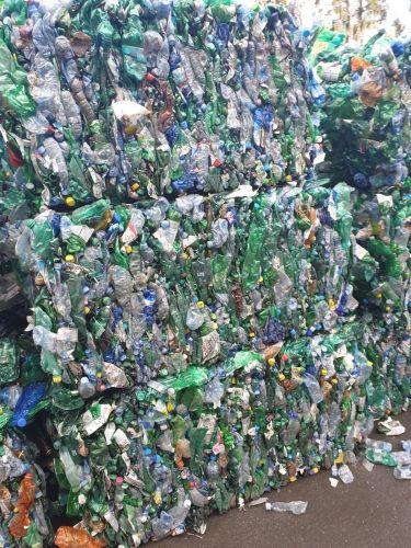 PET bottles mix colour 17091