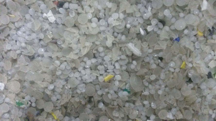 Floor sweep PP/PE (mixture of granules and regrind) 4148